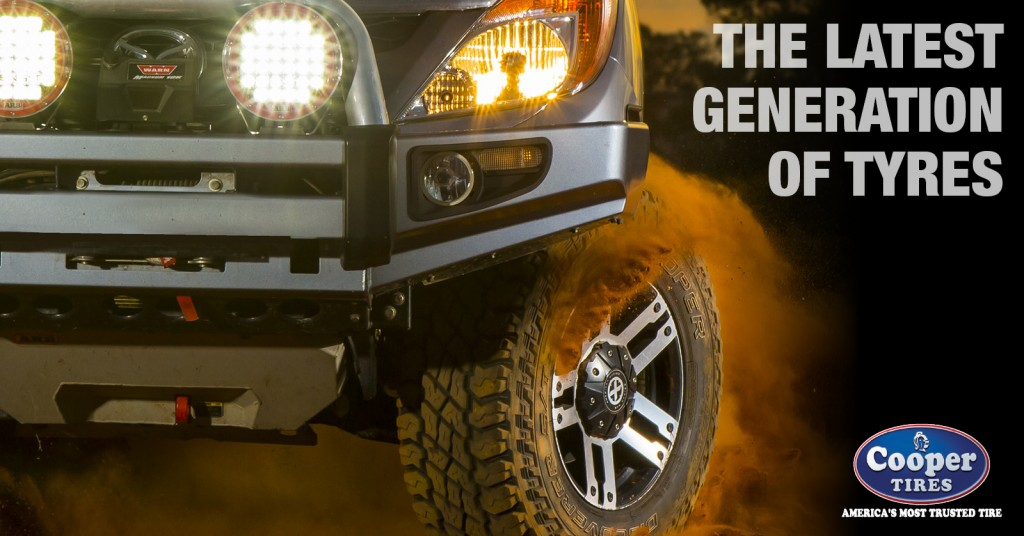 Coopers Tires is the latest generation of tyres.