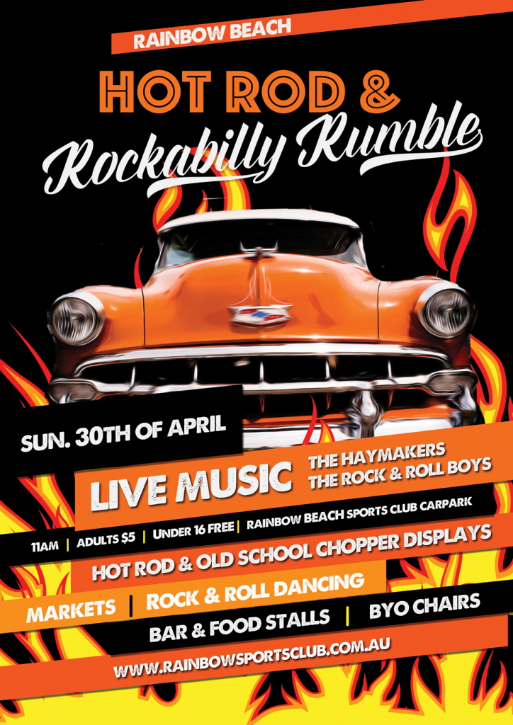 Hot rod and rockabilly rumble